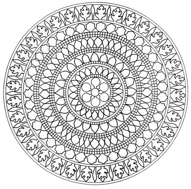 Mandala Ausmalbilder