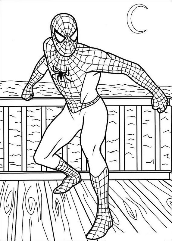 Spiderman ausmalbilder for Spiderman da colorare pdf
