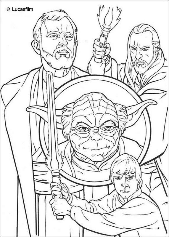 Star Wars Ausmalbilder