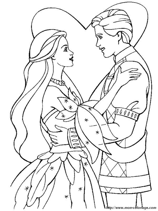Atemberaubend Barbie Und Ken Malvorlagen Bilder - Druckbare ...