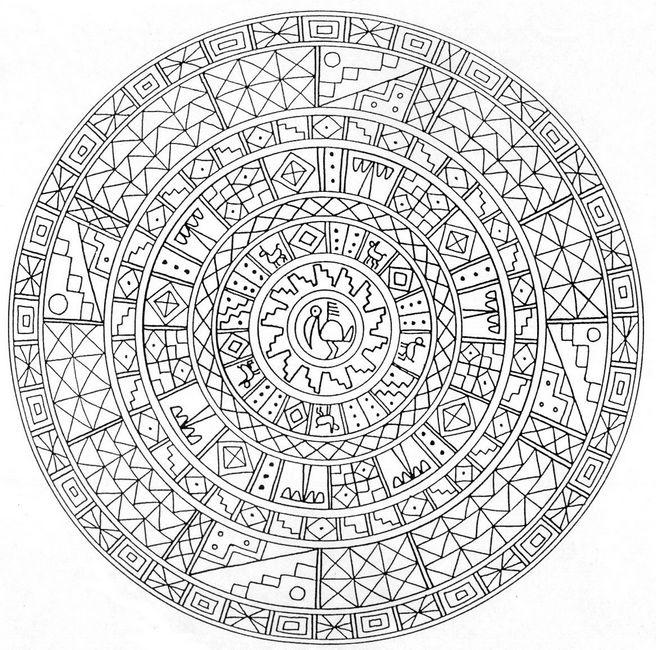 azteken symbole