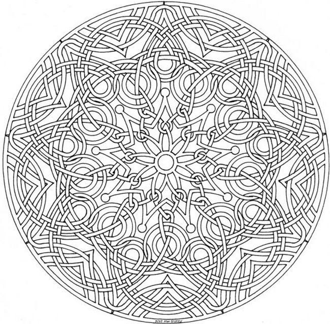 Ausmalbilder F 252 R Erwachsene Bild Mandalas Ausmalbilder Intricate Coloring Pages Printable 2