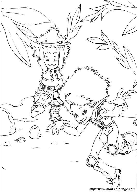 Ausmalbilder Arthur und die Minimoys, bild arthur und die minimoys 6
