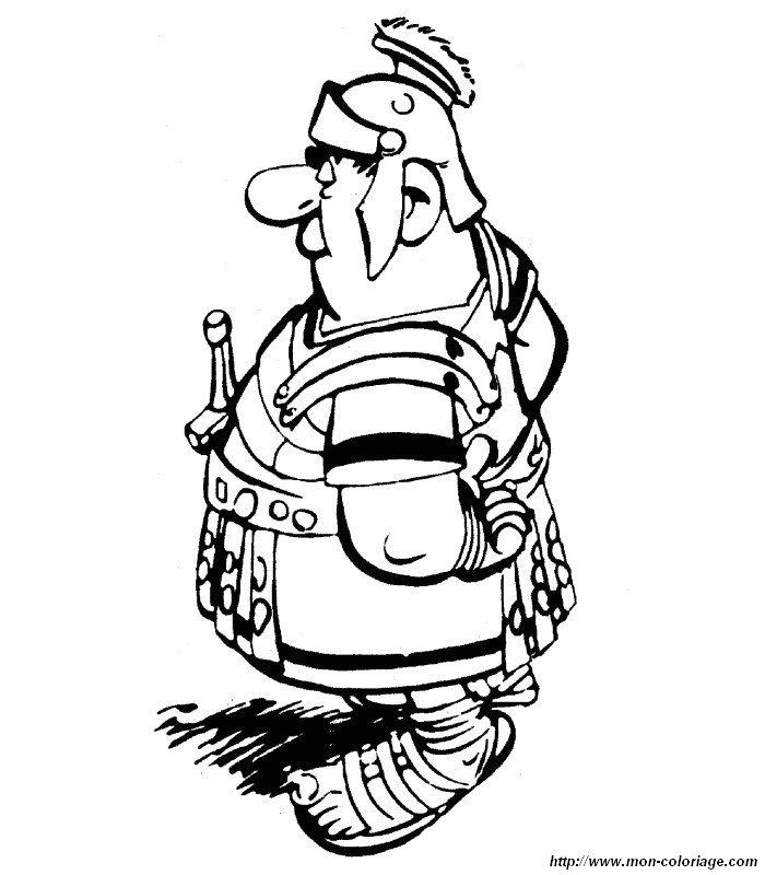 Ausmalbild Ausmalbilder Asterix Obelix