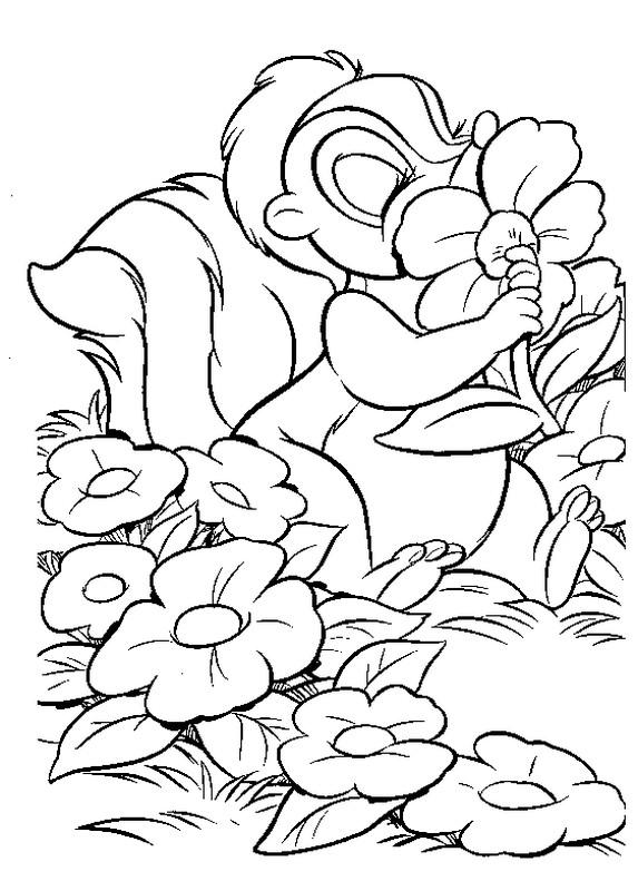 Niedlich Bambi Malvorlagen Blume Bilder - Beispielzusammenfassung ...