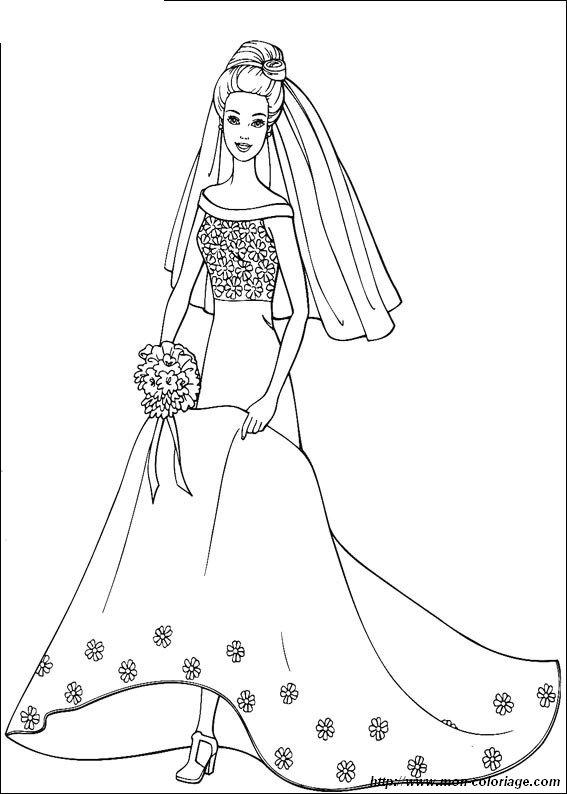 Ausmalbilder Barbie Bild Malvorlagen Barbie Ehe