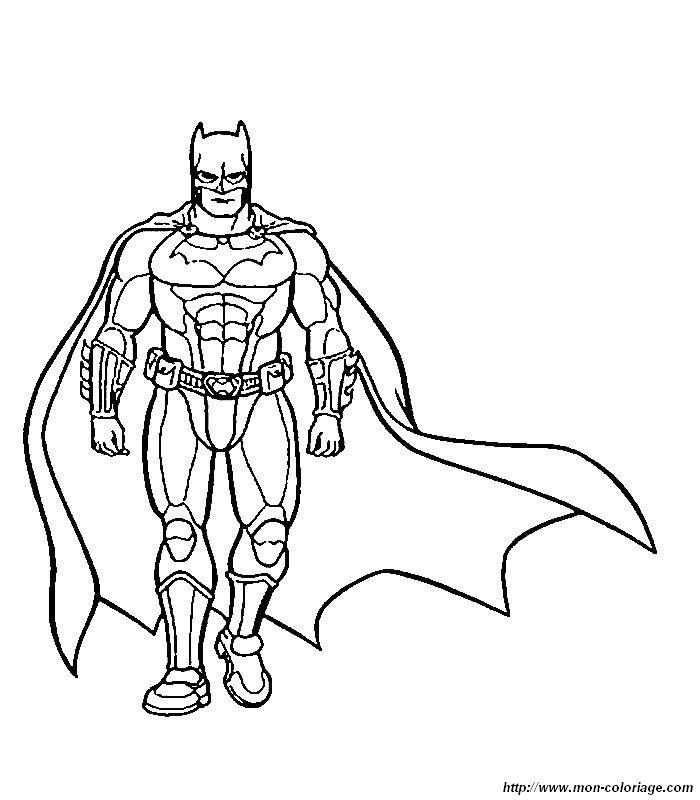 Ausmalbilder Batman Bild 020