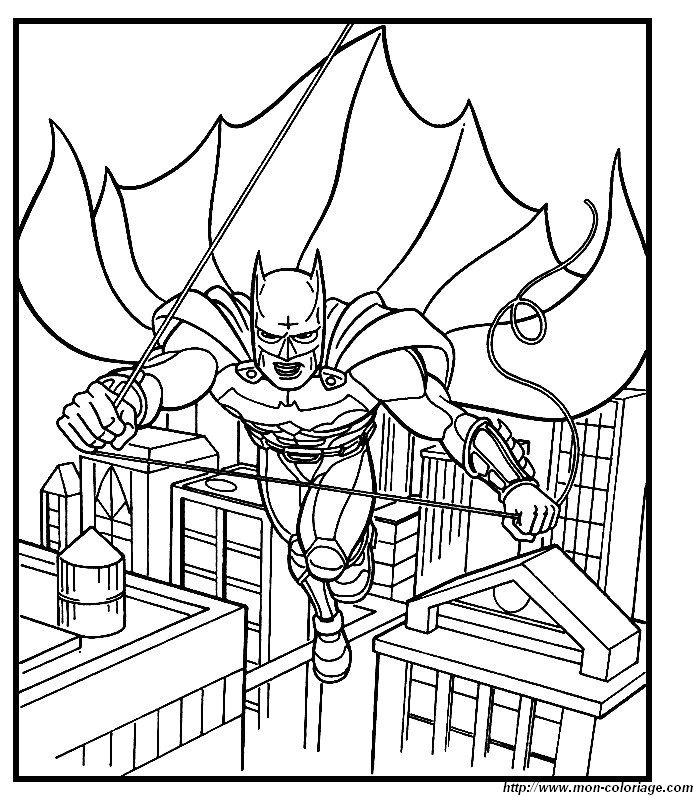 Ausmalbilder Batman Bild 023
