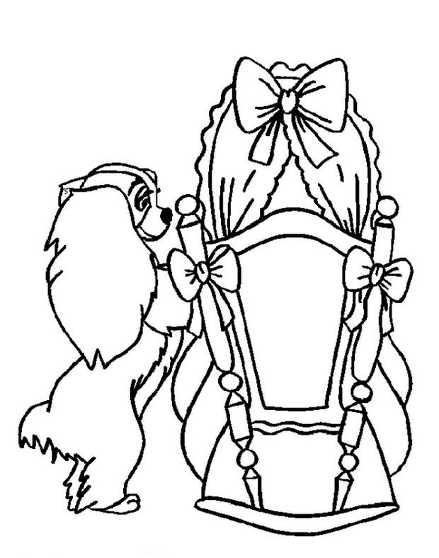 Ausmalbilder Susi Und Strolch Bild Die Wiege Des Babys