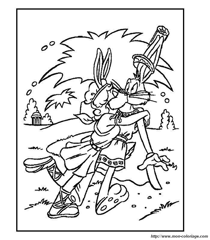 ausmalbilder bugs bunny bild 011