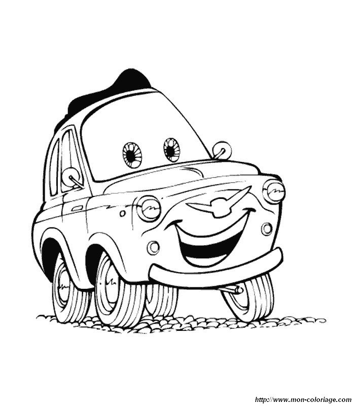 Ausmalbilder Cars Bild Cars 3