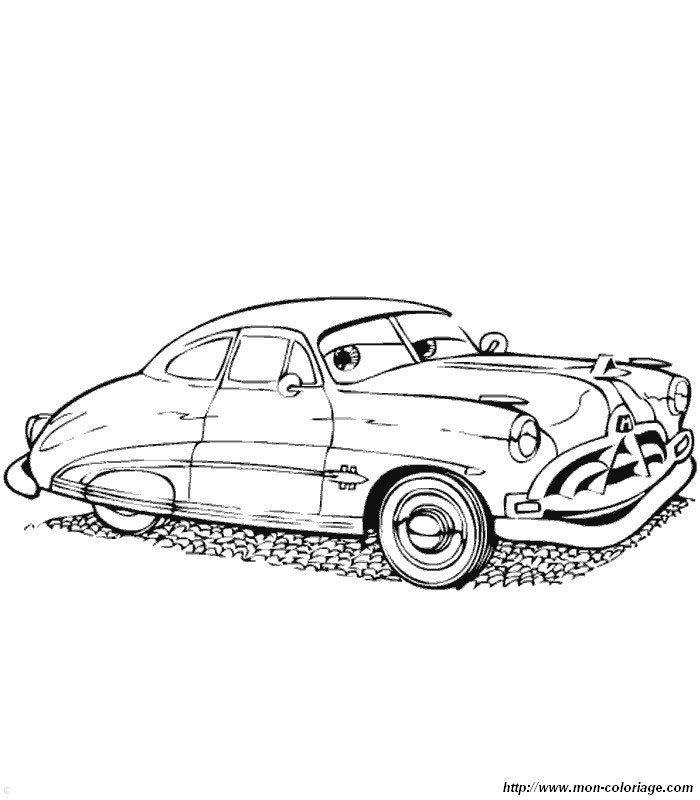 Ausmalbilder Cars, bild cars ausdrucken