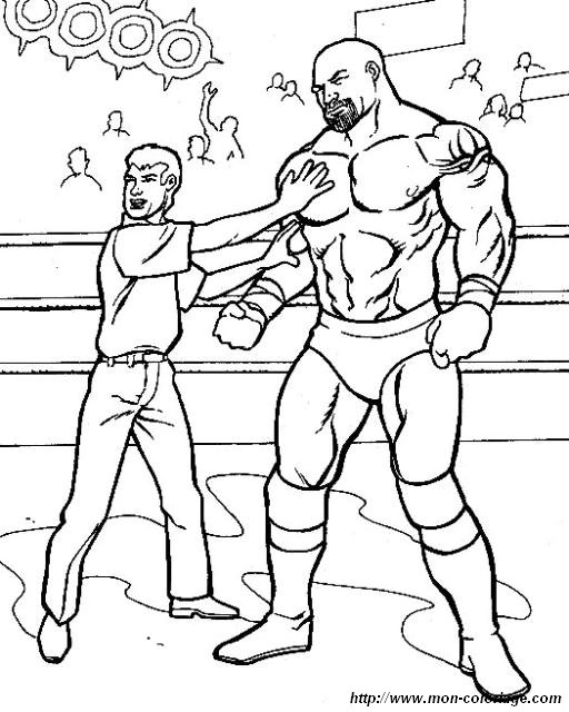 Free Printable Coloring Pages Wrestling For Kids