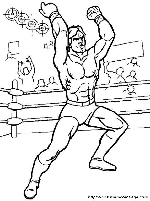 Wcw Coloring Pages