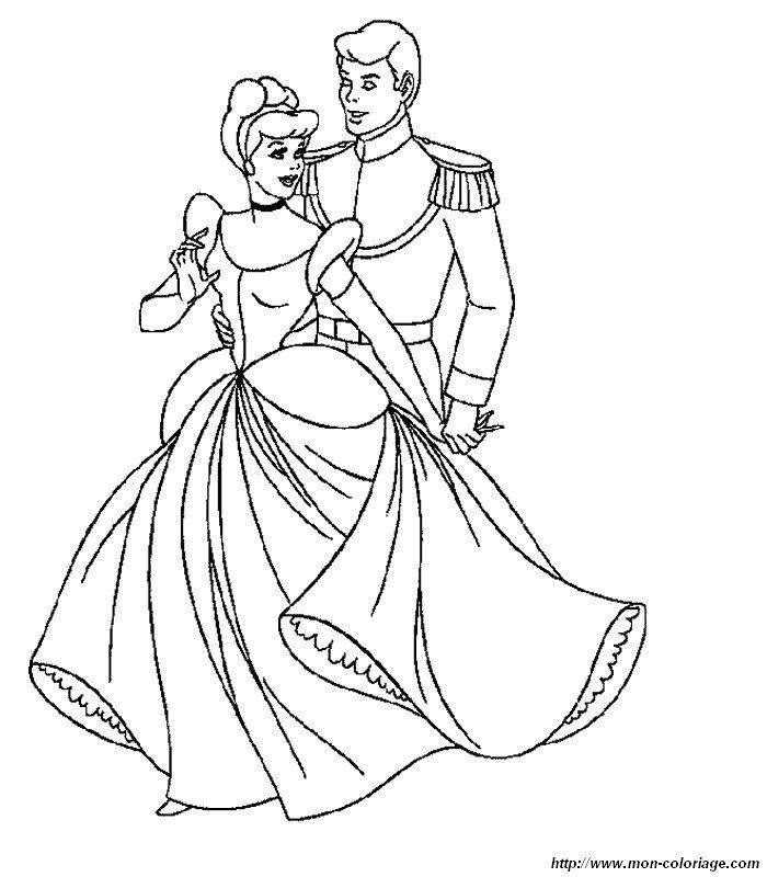 Ausmalbilder Cinderella Bild 010