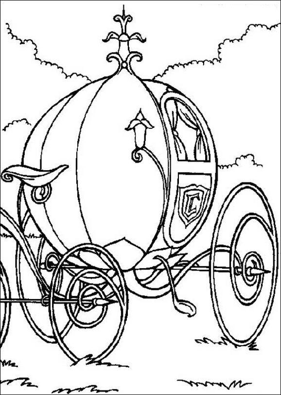 Malvorlagen Cinderella Kutsche | My blog