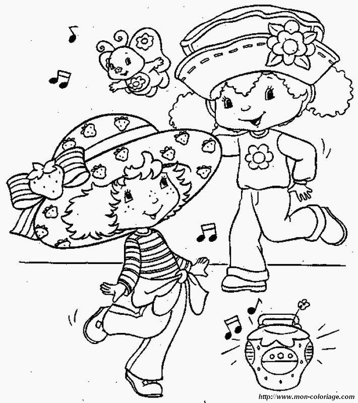 Ausmalbilder Emily Erdbeer Bild Sie Tanzen