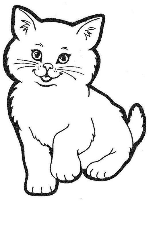 Prächtig Ausmalbilder Katze, bild Bild ausschneiden @WE_27