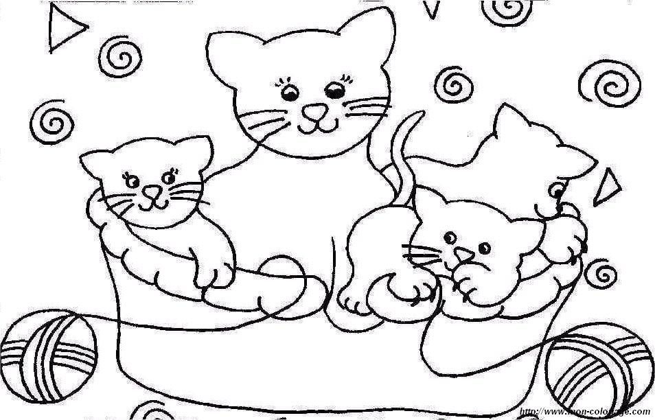 Ausmalbilder Katze Bild Katze 08