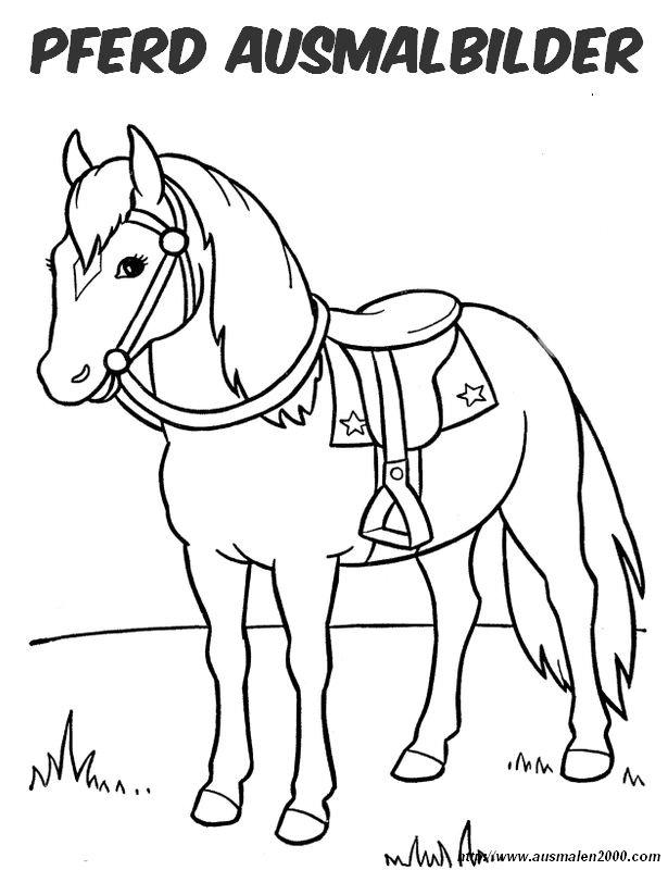 1462 malvorlagen pferd mit sattel  coloring and malvorlagan