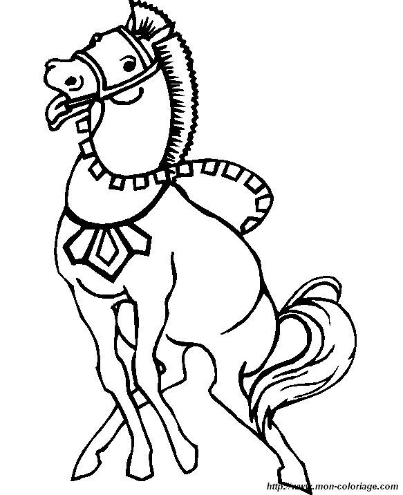 ausmalbilder pferde bild pferd 5
