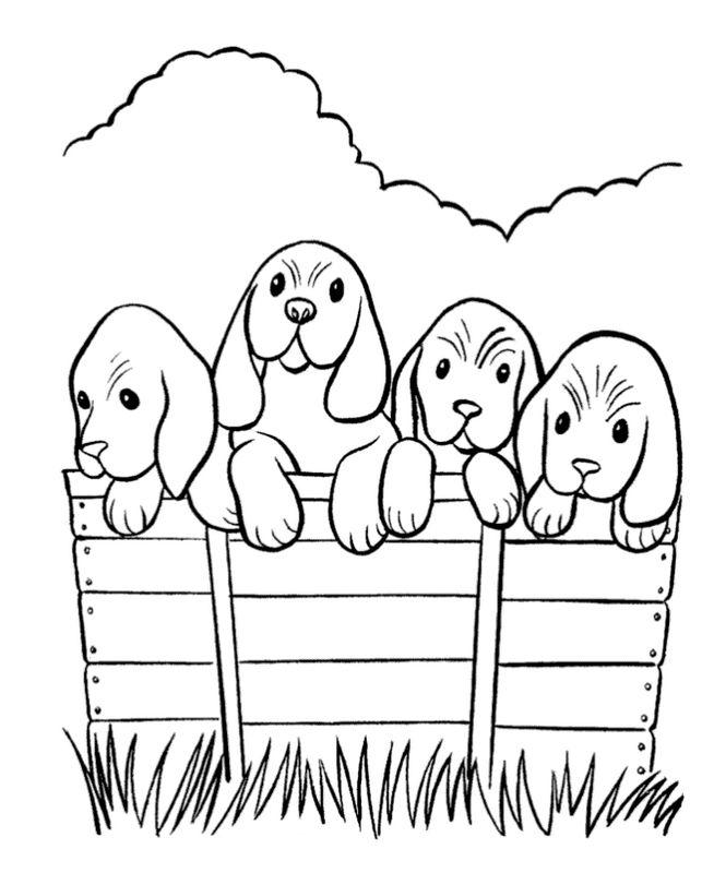 cottonelle dog coloring pages - photo#25