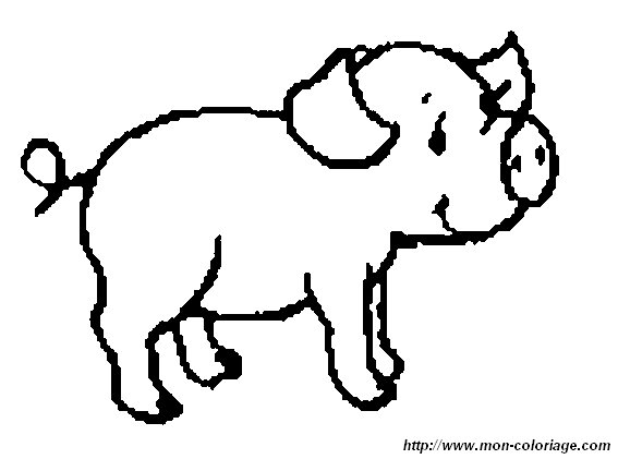 Ausmalbilder Schwein Bild Schwein 20