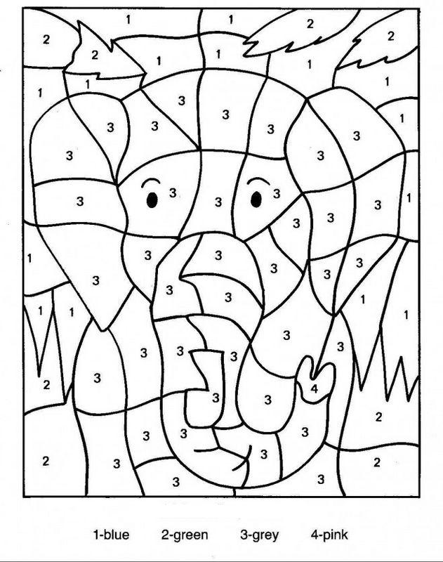Ausmalbilder Zauber Malbilder Und Malen Nach Zahlen Bild Der Kopf