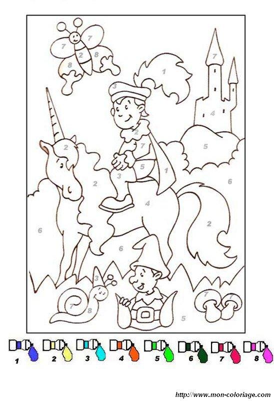 Ausmalbilder Zauber Malbilder Und Malen Nach Zahlen Bild Einhorn