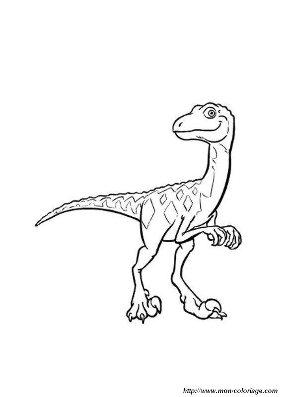 ausmalbilder dino zug bild dinozug2