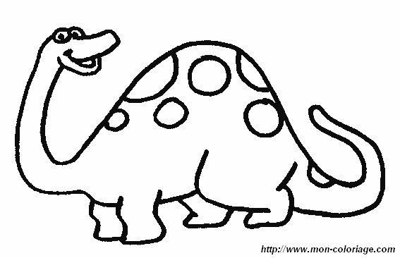 Ausmalbilder dinosaurier bild dino19 - Image dinosaure a colorier ...