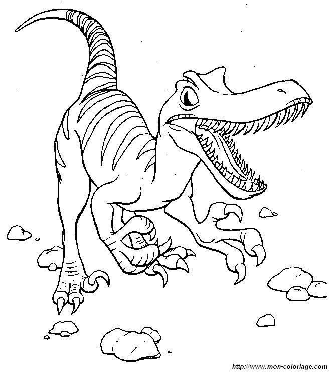 Ausmalbilder Dinosaurier bild dinosaurier 006