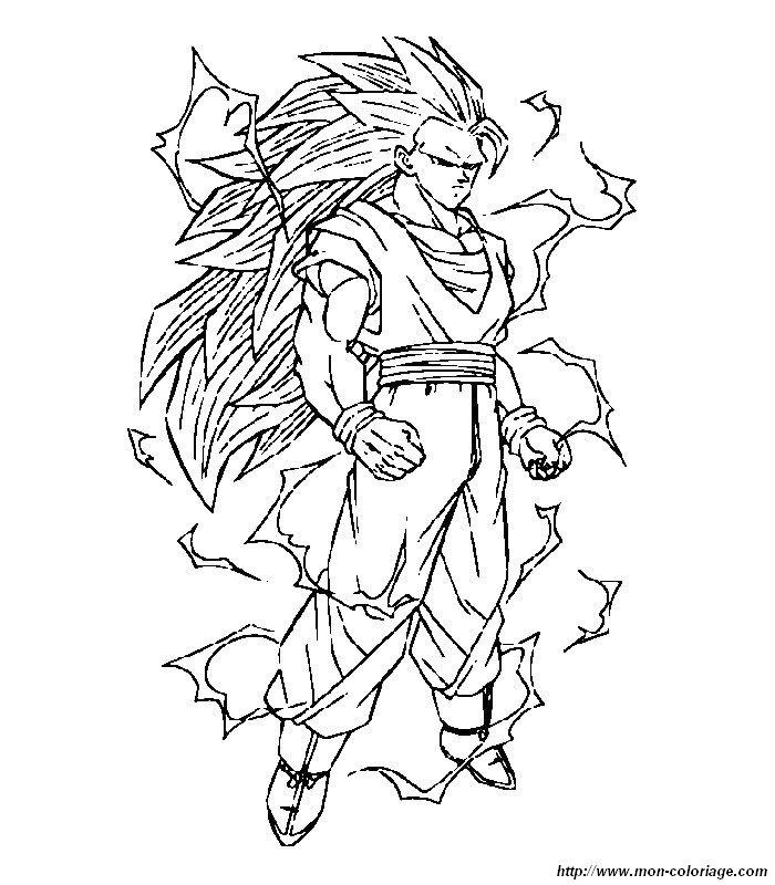 Ausmalbilder Dragon Ball Z Bild 027