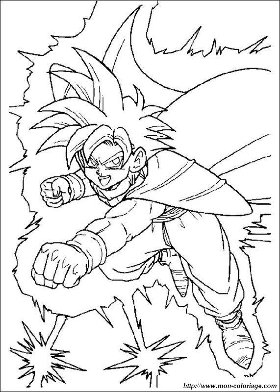 Ausmalbilder Dragon Ball Z Bild Son Gohan Super Saiyajin