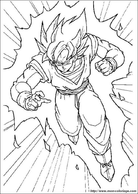 Ausmalbilder Dragon Ball Z bild son goku