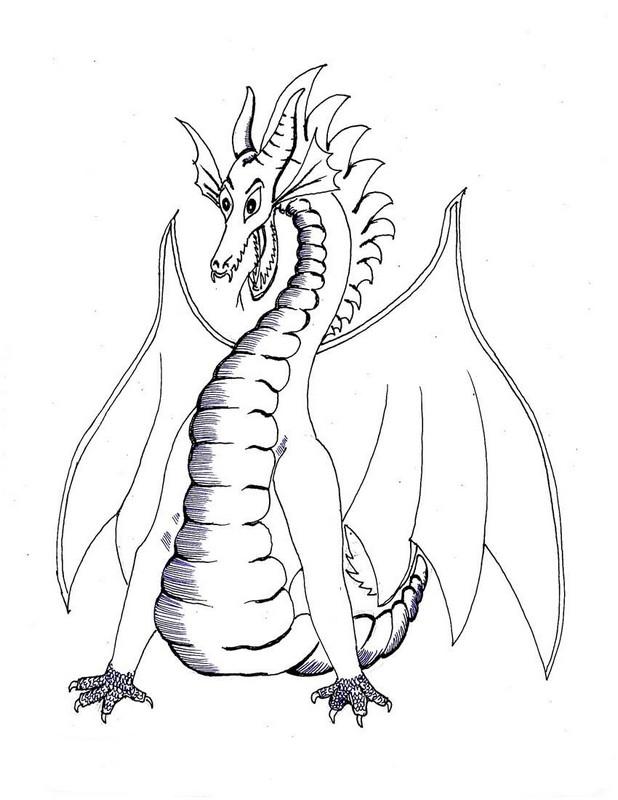 ausmalbilder chinesische drachen  x13 ein bild zeichnen