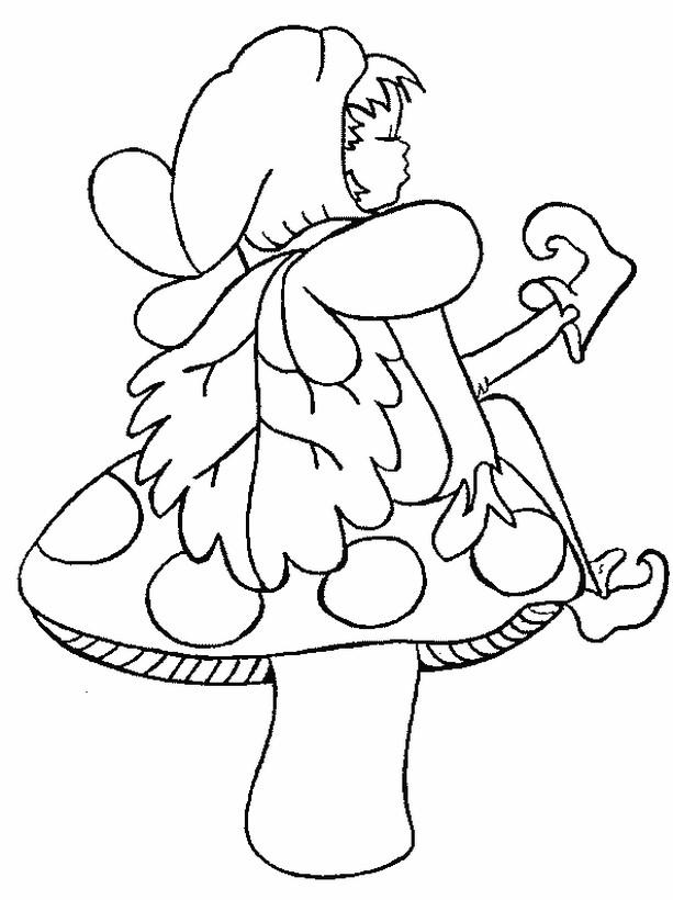 elfe sitzend malvorlage  coloring and malvorlagan