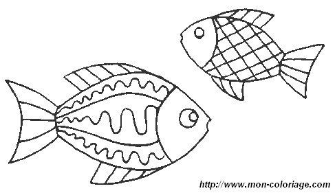 Ausmalbilder Fisch bild fisch 6