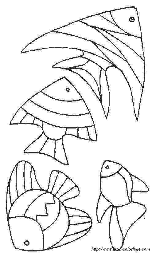 Ausmalbilder fisch bild fisch 7 for Pesci da disegnare per bambini