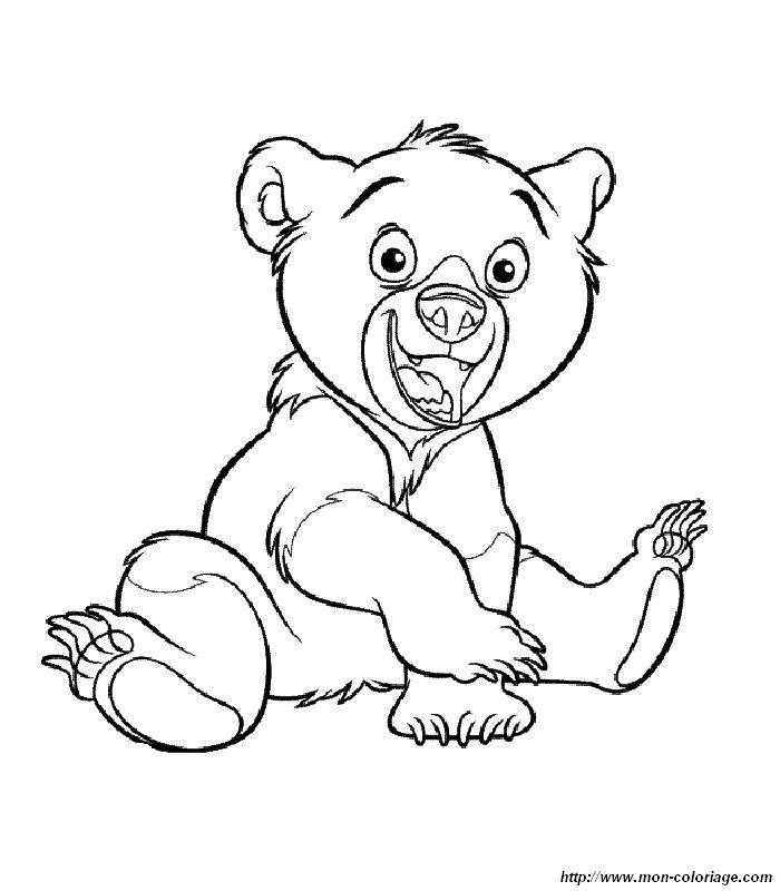 Ausmalbilder Bärenbrüder Bild 012