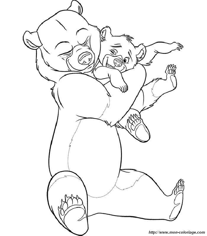 Ausmalbilder Bärenbrüder Bild Ausmalbilder Barenbruder