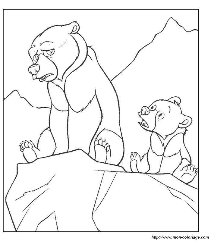 Ausmalbilder Bärenbrüder Bild Bilder Barenbruder