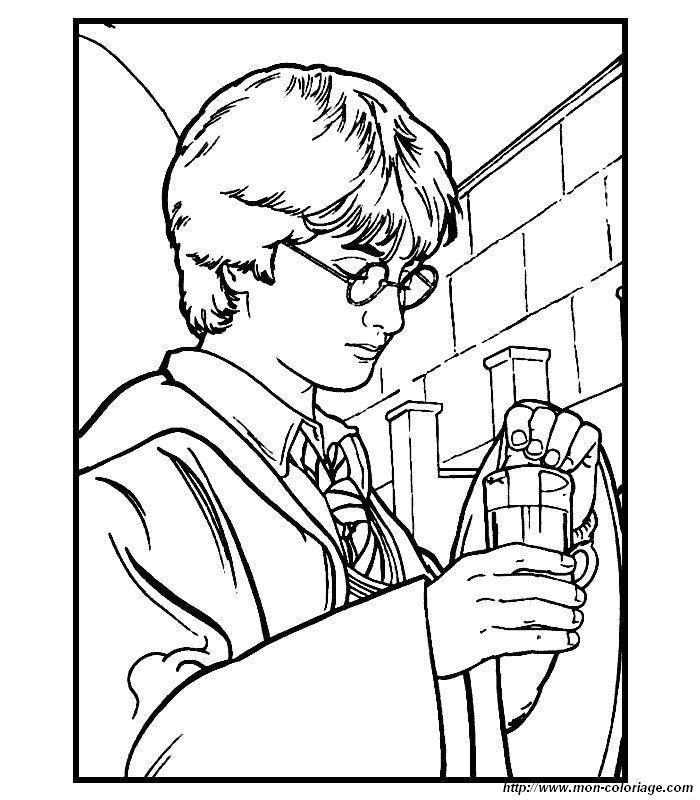 Ausmalbilder Harry Potter bild harry potter 09