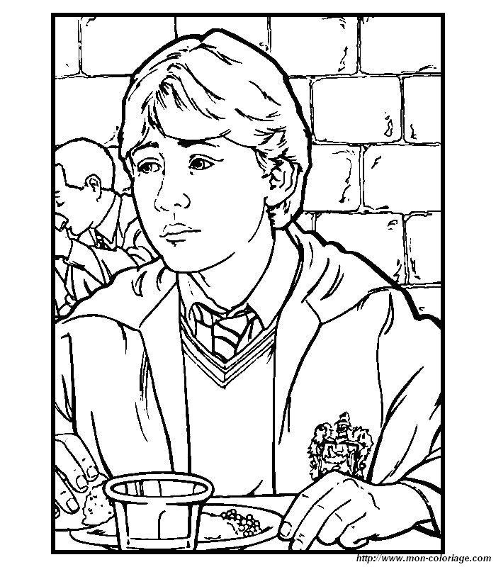 Ausmalbilder Harry Potter bild harry potter ausmalen