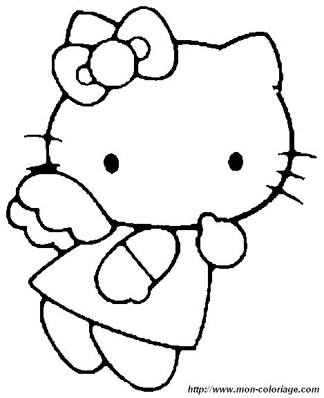 Charmmy Kitty Coloring Pages