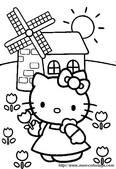 Ausmalbilder Hello Kitty Bild Hello Kitty Malvorlagen