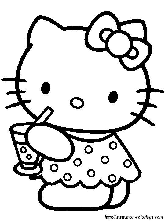 Ausmalbilder Hello Kitty Bild Hello064