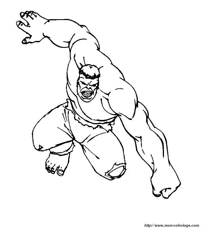 Hulk Bilder Zum Ausmalen: Ausmalbilder Hulk, Bild 002