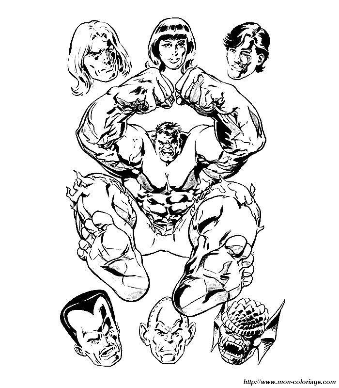 Hulk Bilder Zum Ausmalen: Ausmalbilder Hulk, Bild 007