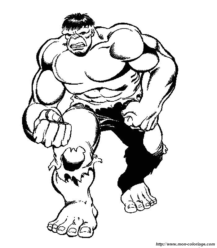 Hulk Bilder Zum Ausmalen: Ausmalbilder Hulk, Bild 014